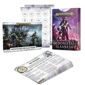 Warscroll Cards: Hedonites Of Slaanesh