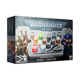 Warhammer 40.000 Paints+Tools Set