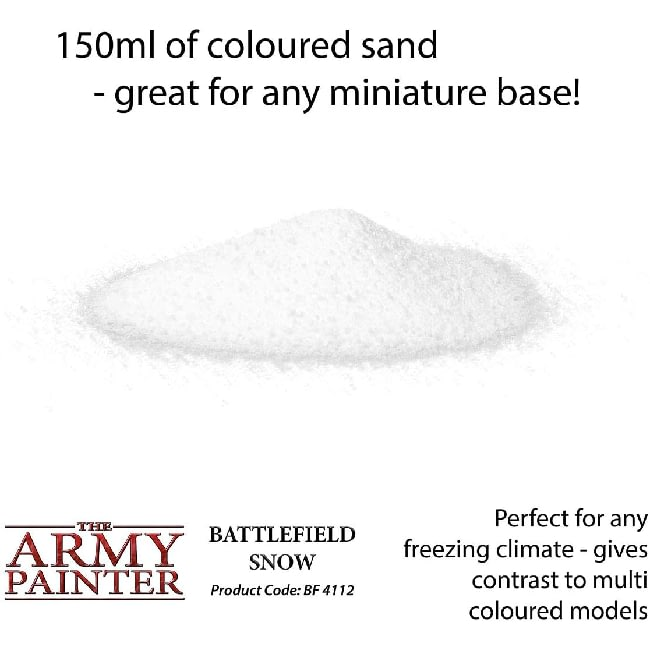 The Army Painter Battlefield Snow Detail