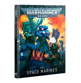 Codex Space Marines front